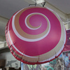Inflatable advertising tire balloon and carton model for sale