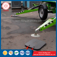 HDPE UHMWPE Crane Jack Pad Pump Truck Support Plate