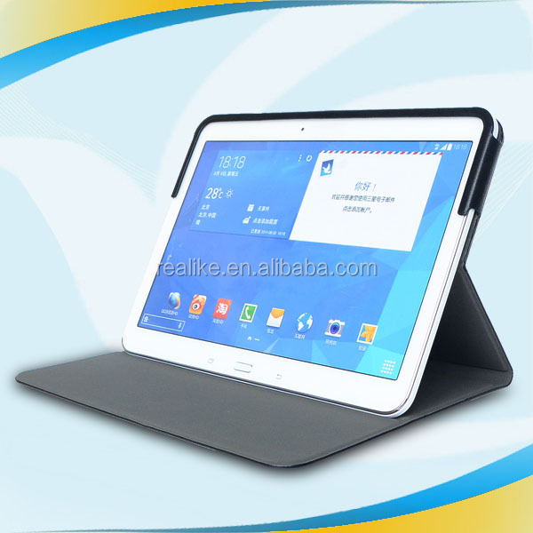 Wholesale newest design for samsung galaxy tab 10.2 leather case