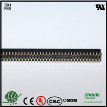 SMT pitch 1.27mm double row 50 female header connector
