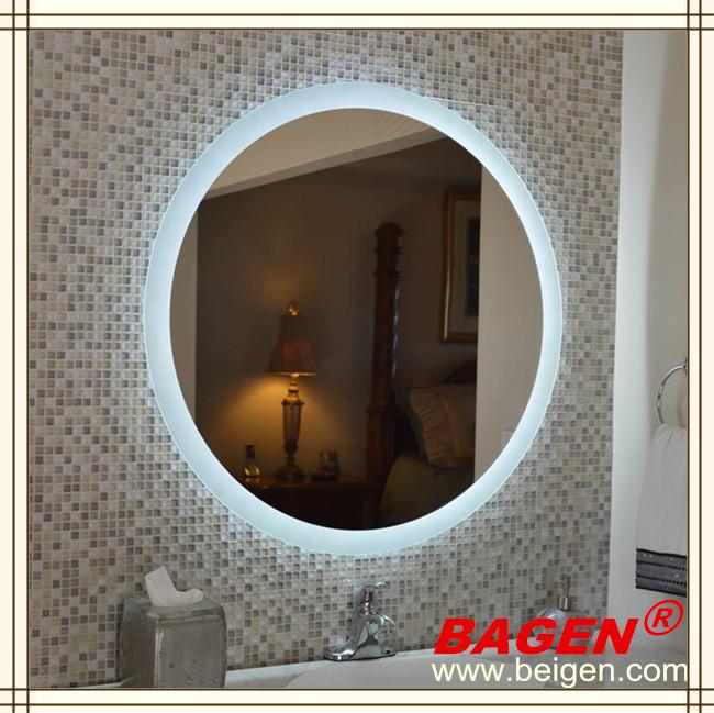 5 toiles h tel chambre meubles ronde r tro clair miroir for Miroir decoratif pour chambre