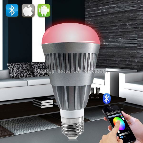 new product introduction,Bluetooth RGBW insteon led wireless smart led bulb