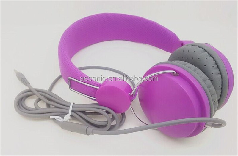 2017 Hot Selling Best Colorful Mobile Music Headphones For Promotion