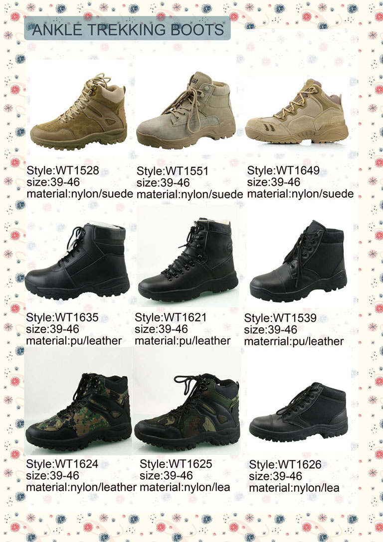 desert black low price high quality training boots swat tactical boots 2017