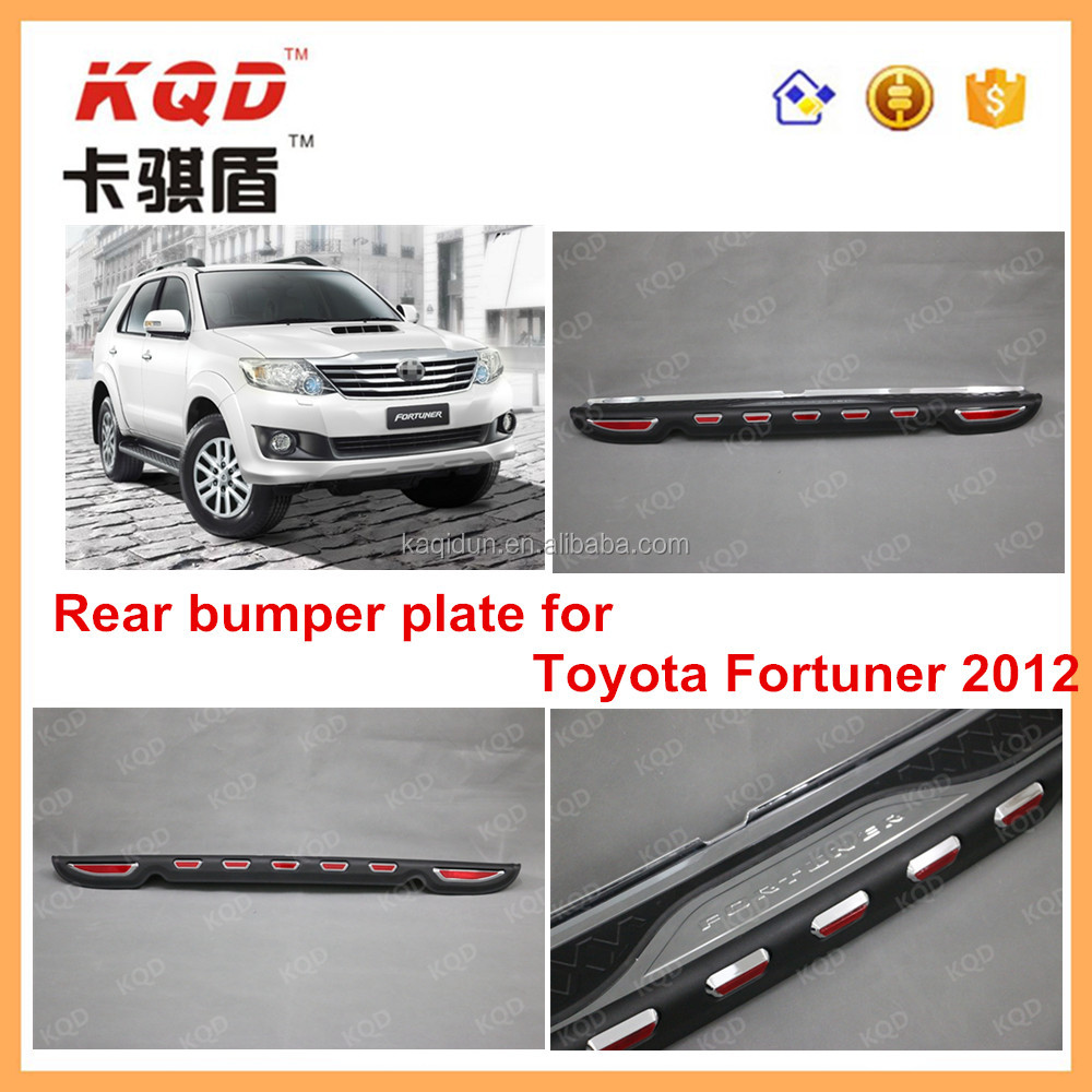 1 Best selling products in India market Rear bumper guard skid plate wholesale toyota fortuner bodykit of rear bumper cover