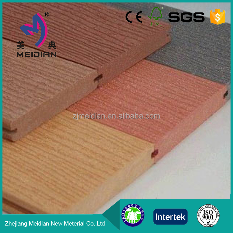 Made in china clip lock flooring wood plastic decking