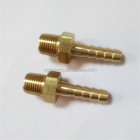 Brass hose pipe fittings brass tailpiece
