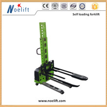integrated hydraulicportable self loading forklift truck for export