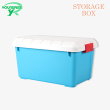 Blue Plastic Storage Containers Car Trunk Organizer For Sale