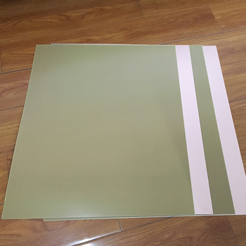 Copper clad laminate sheet board CCL FR4 for PCB blue film american
