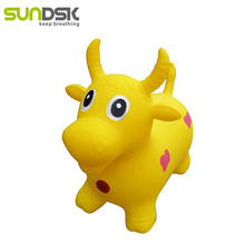 Hot sale pvc inflatable jumping animal