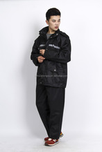 military rainsuit raincoat/rainsuit- high elasticity polyester raingear