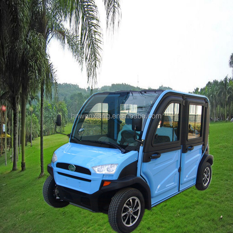chinese 4 seater classic electric golf cart/vehicle