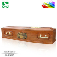 oak wood refrigerator coffin for cremation