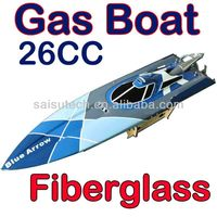 26cc gas engine rc boat fiberglass gas boat for sale