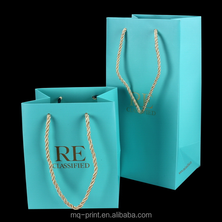 New style Best Selling mini luxury paper shopping bag