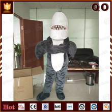 Competitive price animal mascot shark costume for promotion activity