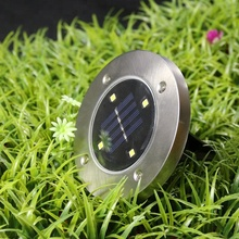 China Yiwu small commodity LED buried lights solar charging power household lawns plug-in waterproof smart lamp