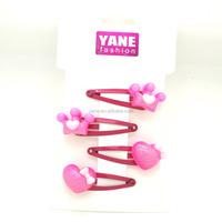 Fashion design hair clips for fine hair, hair clips flower, hair accessories uk