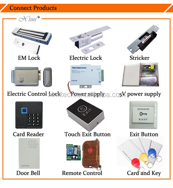 Keypad waterproof metal access control system standalone access control with cheap price M01