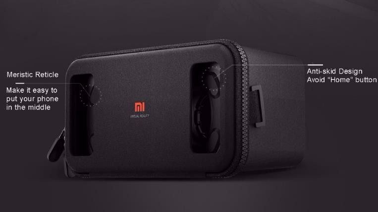 "Original Xiaomi Mi VR Play Toy Virtual Reality 3D Glasses VR 1C Box Lycra Material New For 4.7-5.7"" Phone"