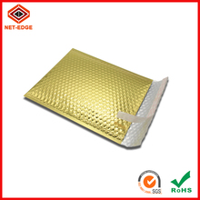 Golden tearproof ecommerce packing bubble padded envelope