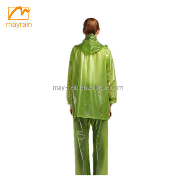 New Style Latest Deisgn pvc rainsuit