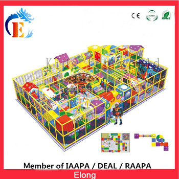 New arrival kids indoor playground equipment, naughty castle for sale