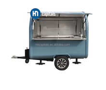 China Supplier Hot sale Snack fast food trailer