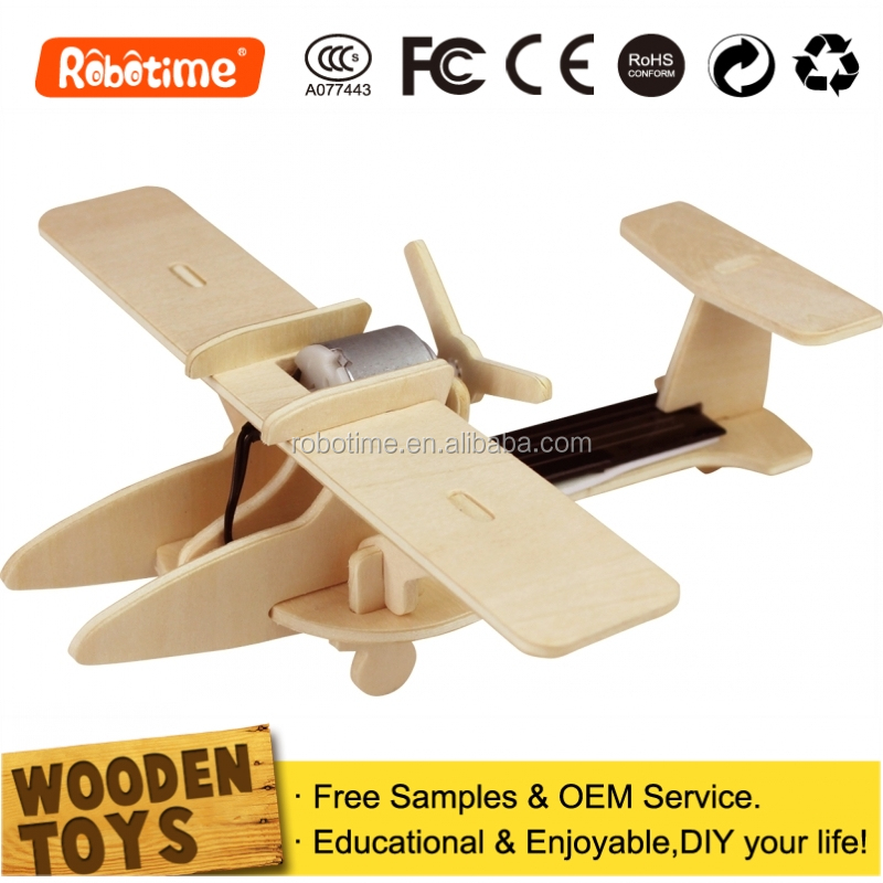 Kids Educational Toys Aircraft Gift Promotional Wood Brain Games