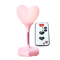 Romantic Rechargeable Heart Shape LED Night Light