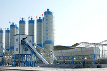 High quality concrete batching plant for infrastructure construction,passed ISO and CE certificate