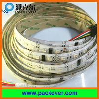 60 LEDs/m 10 pixels/m addressable 24V RGBW DMX512 LED strip