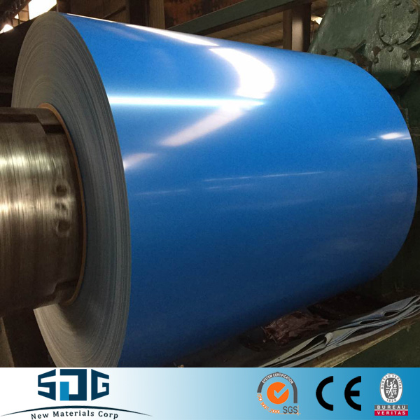 PPGI Color Coated Steel Coil, RAL9002 White Pre-painted Galvanized Steel Coil Z275/Metal Roofing