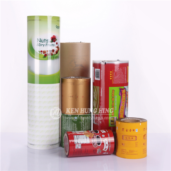 Food Safe Heat Sealable Multi Layer Plastic Scrap Film In Roll