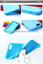 Soft Silicon gel skin case for Iphone 5