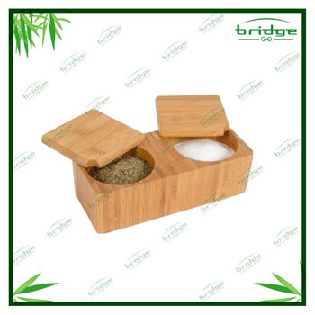 Innovations Bamboo Salt and Pepper Box