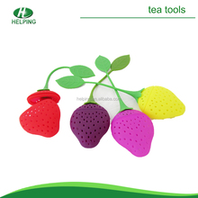 mini strawberry tea infuser silicone