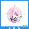 2013 custom promotional Hello Kitty pvc inflatable ball toy
