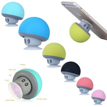 Wireless Bluetooth Mini Mushroom Speaker Portable Waterproof Stereo Bluetooth Speaker for Mobile Phone