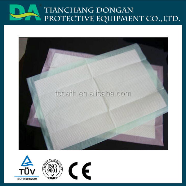 Sanitary Products Disposable Incontinence Underpads