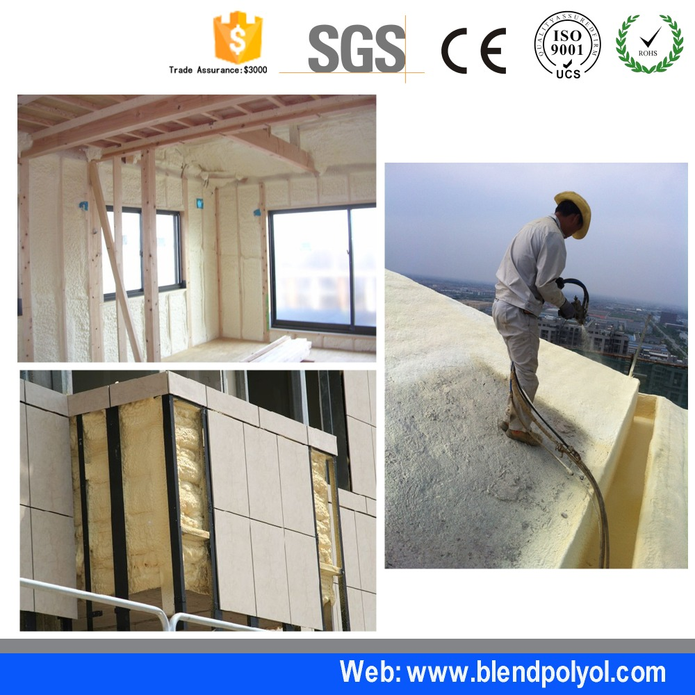 fire proof spray foam insulation party foam spray pu spray foam closed cell