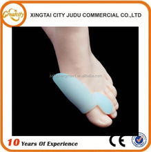 Footcare Silicone Toe Bunion Separator,Soft Gel Toe Protector For Hallux Valgus And Overlapping