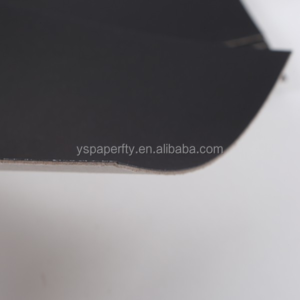 black board <strong>paper</strong> for cigarette box packing/for printing