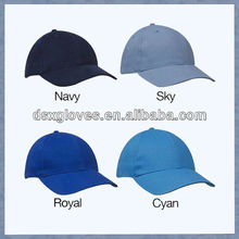 High quality with cheap price 6 Panel Plain Royal Navy Baseball Caps