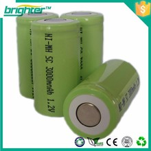 energy plus battery ni-mh sc2500mah battery ea7
