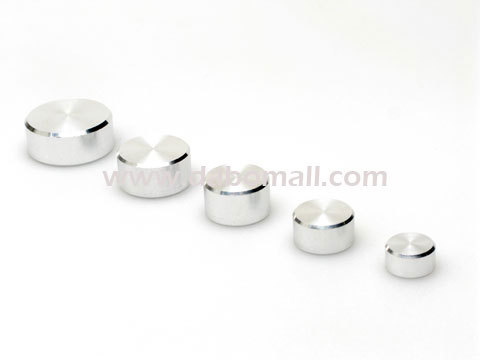Aluminium Caps, special screw