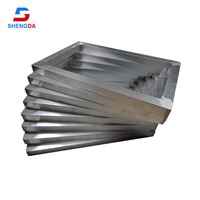 Aluminum frame for solar panel printing material (OD 24*20 T6063 material)