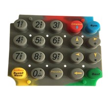 Waterproof custom made remote button silicone rubber key pad numeric keypad