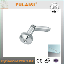 tempered stainless steel glass canopy awning hardware